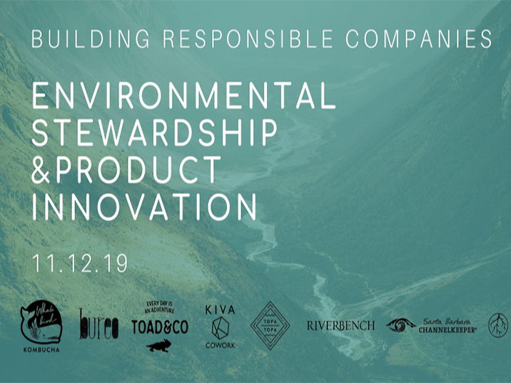 Building Responsible Companies: Environmental Stewardship & Product Innovation